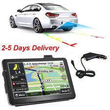 "USA Ship 7"" HD Car Truck Navigation GPS 4GB FM Touch Screen SAT NAV Free 3D Maps"