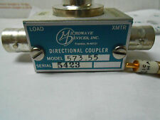 573-55 Microwave Devices Directional Coupler 220 Mhz With 1N21C New Old Stock