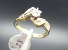 14k Gold .25ct Right Hand Bypass Vs Diamond Ring