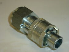 "NOS! NATIONAL COUPLING FEMALE PLUG, 1/2"" THREADS"