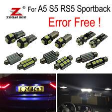 24pcs LED plate Bulb Interior door Light kit for Audi A5 S5 RS5 Sportback 09-15