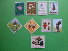 LOT 5284 TIMBRES STAMP DIVERS MACAO MACAU ANNEE 1953 A 1971