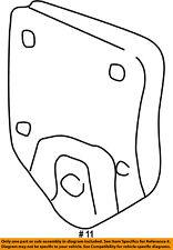 FORD OEM 99-04 F-350 Super Duty Steering Gear-Damper Bracket F81Z3E652AA