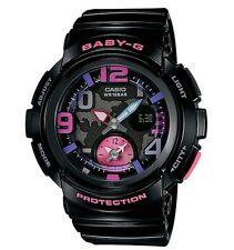 Casio Baby-G * BGA190-1B World Time Black Pink Watch for Women COD PayPal