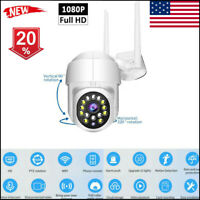 2021 NEW 1080P IP Camera WIFI Wireless CCTV HD PTZ Smart Home Security IR Cam