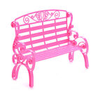 1 X Mini Park Chairs for Barbies Kids Play House Toys Doll Accessories Girl 3C
