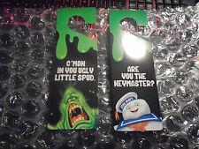 Loot Crate Exclusive Ghostbusters Door Hanger. 2 sided. Slimer 2 Types