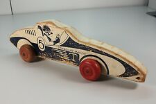 Awesome Vintage Wood Treasure Racer Toy Car...28