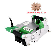 Handheld Electric Brick Wall Chaser Floor Wall Groove Cutting Machine 1100W 220V