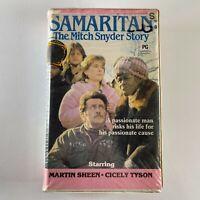 Samaritan The Mitch Snyder story VHS Clamshell video Martin Sheen