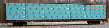 """N SCALE: """"Materiaux Blanchet"""" lumber load for RED CABOOSE & MTL centerbeam CAR"""