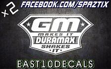 Duramax shakes it vinyl bumper sticker decal windshield banner diesel 2500