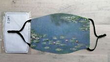 Water Lillies face mask (Claude Monet)
