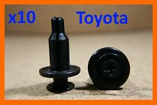 10 Toyota bumper fender trim panel lining fasteners clips