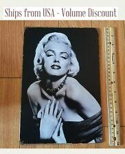 Retro Marilyn Monroe Sign Marilyn Monroe Sign Marilyn Monroe Vintage Fan Gift BW
