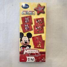 Lot Of 2 Disney Disney Mickey Mouse Clubhouse Memory Match Game (36pc Set