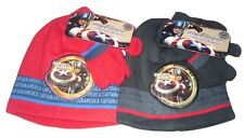BOYS HAT AND GLOVES SET CAPTAIN AMERICA  2-8 YEARS OLD