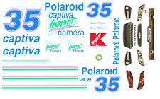 #35 Shawna Robinson 2013 Polaroid Victory Lap Car 1/64th HO Slot Car Decals