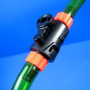 2x Control Valve 12/16mm Quick Disconnect TAP - Hoseing Filter Flow Aquarium