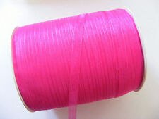 15 Meters Organza Ribbon - 7mm - Dark Pink