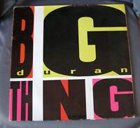 "LP Vinilo 12"" 33 rpm DURAN DURAN - BIG THING  1988EMI"