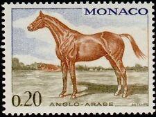 "MONACO N° 832 ""CHEVAUX DE SANS, ANGLO-ARABE 20 C"" NEUF xx TTB"