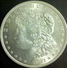 1921 Silver Morgan BU doubling on obverse and reverse!