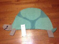 New Pottery Barn Kids Turtle Shaped Wool Playroom Nursery Rug 2.2 X 3.5