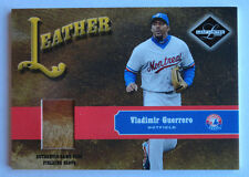 Vladimir Guerrero 2003 Leaf Limited Leather Game Used Glove 14/25 Montreal Expos