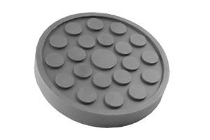 2 X 2 Post Rubber Lift Pad Bradbury 150 x 22mm PAD0049