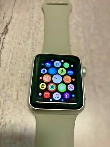Excellent Condition Apple Watch - Series 1 - 38mm WR-IPX7 with Charger