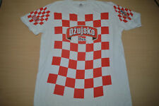 Croatia Soccer Team T-Shirt Check Red White Jersey Shirt WorldCup 2018 Modric ML