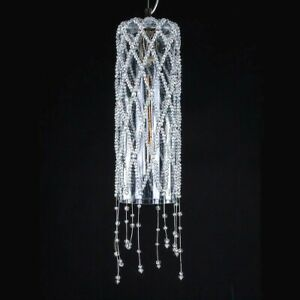 Suspended Lights for Ceiling Crystal Of Bohemia 1 Light Modern House