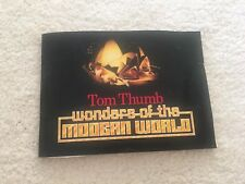 Wonders Of The Modern World 1985 Special Album Tom Thumb Tobacco Cards Collector