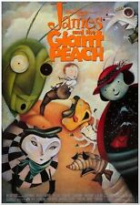 JAMES AND THE GIANT PEACH - 1996 - Original 27x40 Movie Poster - Characters