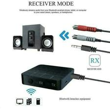 HIFI Bluetooth 5.0 Audio Transmitter Receiver 2 in1 Wireless A2DP Aux 3.5mm RCA