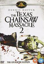 The Tex as Chainsaw Massacre 2 Dennis Hopper, Caroline Williams, NEW UK R2 DVD