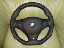 TUNING Lederlenkrad  BMW E90 E91 E92 E93 E81 E82 E87 UNTEN ABGEFLACHT Lenkrad K3