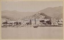 San Remo Italie Italia Tirage albuminé Vintage albumen ca 1875