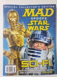 Mad Special Collector's Edition September 2021 Magazine Spoofs Star Wars, SCI-FI