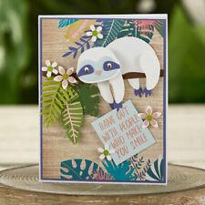 Sloth Craft Metal Cutting Dies Cartoon Animal Embossing Scrapbook  Card Die Cuts