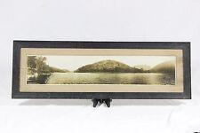 Vintage Panoramic Photograph Delaware Water Gap National US Park Photo Original