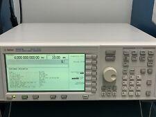 Hp Agilent E4437b Esg Dp 4 Ghz Signal Generator 1e5 1em Unb Calibratedltlt