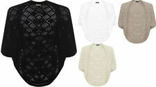 Acrylic Solid Plus Size Jumpers & Cardigans for Women
