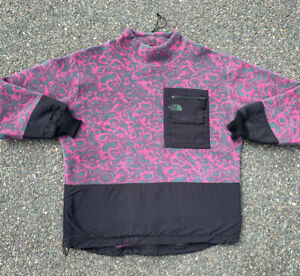 Vintage The North Face Rage Fleece Pullover Sweater Jacket Mens Size L Large