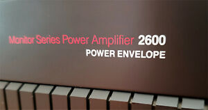 NAD Flagship Monitor Series 2600 Power Amplifier 150 wpc + Power Envelope Nice!