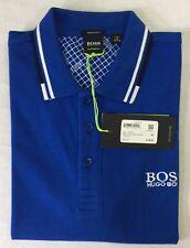 Hugo Boss Green Regular Fit Polo Shirt Paddy Black Navy Blue Green Size S M L XL
