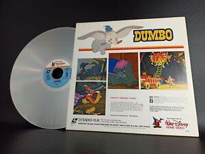 Walt Disney Timeless Classic Dumbo Laserdisc Extended Play 1982
