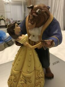 "Disney Traditions Beauty And The Beast ""Moonlight Waltz"" Enesco 4049619"