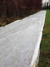 1.5m x 50m 17gsm Yuzet Frost Protection Fleece Winter Plant Cover Shrubs Crops
